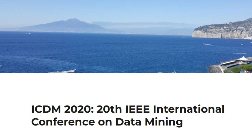 20th IEEE International Conference on Data Mining (ICDM 2020)