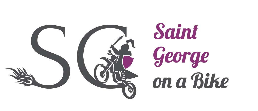 Saint George on a Bike project logo